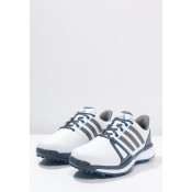 Zapatillas adidas Golf ADIPOWER BOOST 2 WD Zapatos de golf blanco/mineral azul/azul