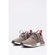 Zapatillas adidas Originals NMD_R1 marrón/blanco