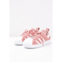 Zapatillas adidas Originals SUPERSTAR 80S PRIMEKNIT raw rosa/blanco