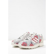 Zapatillas adidas Originals ZX FLUX gris/core blanco/raw rosa