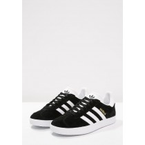 Zapatillas adidas Originals GAZELLE negero/blanco