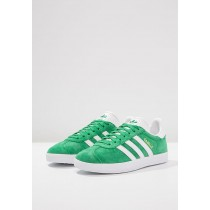 Zapatillas adidas Originals GAZELLE verde/blanco
