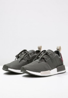 Zapatillas adidas Originals NMD_R1 verde/marrón