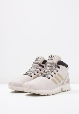 Zapatillas adidas Originals ZX FLUX 5/8 altas Marrón claro/negero