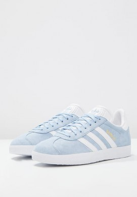 Zapatillas adidas Originals GAZELLE zul/blanco