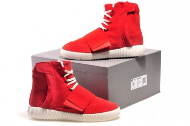 Zapatillas Adidas Kanye West Yeezy3 750 Boost rojo