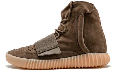 Zapatillas adidas Yeezy Boost 750 marrón